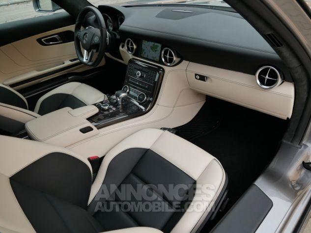 Mercedes SLS AMG Coupé, Cuir Exclusif, Carbone, Céramiques, Lift System, Caméra 776U Gris Himalayas métallisé Occasion - 6