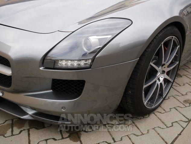 Mercedes SLS AMG Coupé, Cuir Exclusif, Carbone, Céramiques, Lift System, Caméra 776U Gris Himalayas métallisé Occasion - 9
