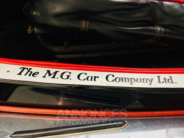 MG TD Mark II roadster Kompressor Noir Occasion - 11