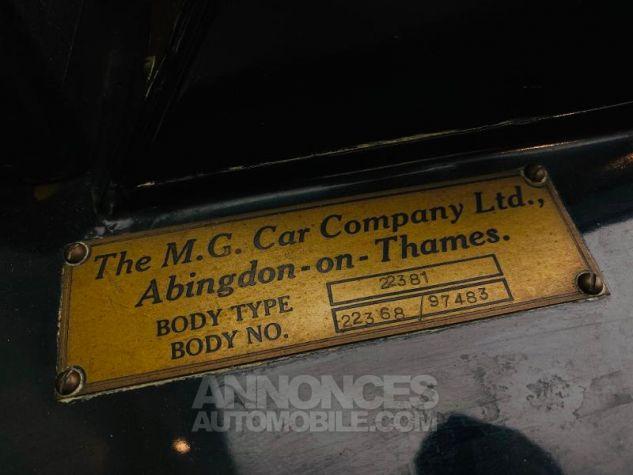 MG TD Mark II roadster Kompressor Noir Occasion - 17
