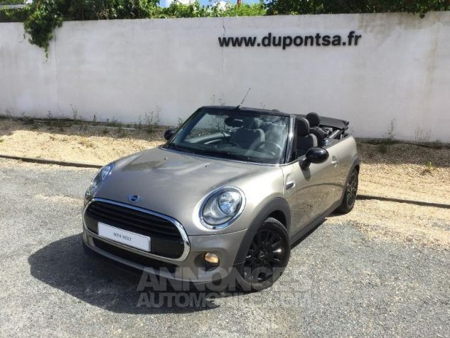 Mini Cabrio Cooper 136ch Chili BRONZE Occasion - 0