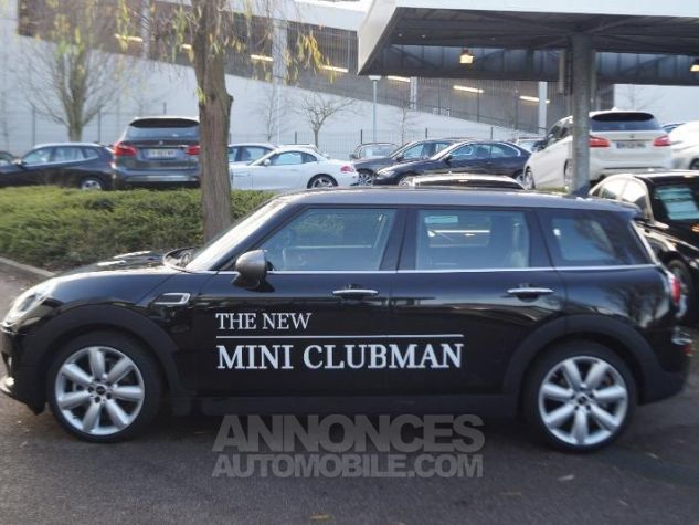 Mini Clubman Cooper D Chili BVA8 MIDNIGHT BLACK Occasion - 10