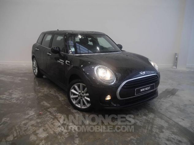 Mini Clubman One D 116ch Hyde Park BVA Midnight Black Occasion - 0