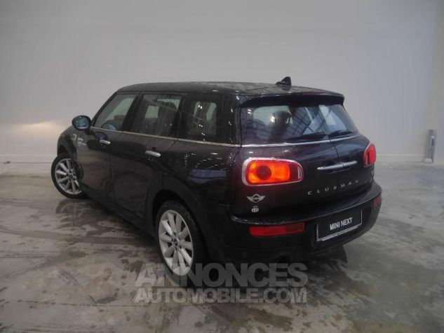 Mini Clubman One D 116ch Hyde Park BVA Midnight Black Occasion - 2