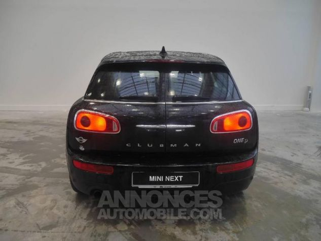 Mini Clubman One D 116ch Hyde Park BVA Midnight Black Occasion - 5