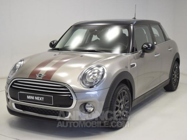 Mini Cooper 136ch Shoreditch Melting Silver Metallisee Occasion - 0