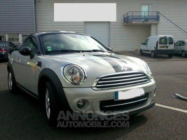 Mini Cooper Coupe 122ch PACK CHILI White Silver mètallise Occasion - 1