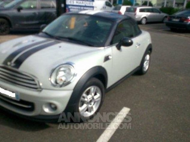 Mini Cooper Coupe 122ch PACK CHILI White Silver mètallise Occasion - 2