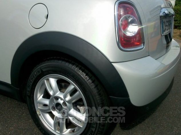 Mini Cooper Coupe 122ch PACK CHILI White Silver mètallise Occasion - 4