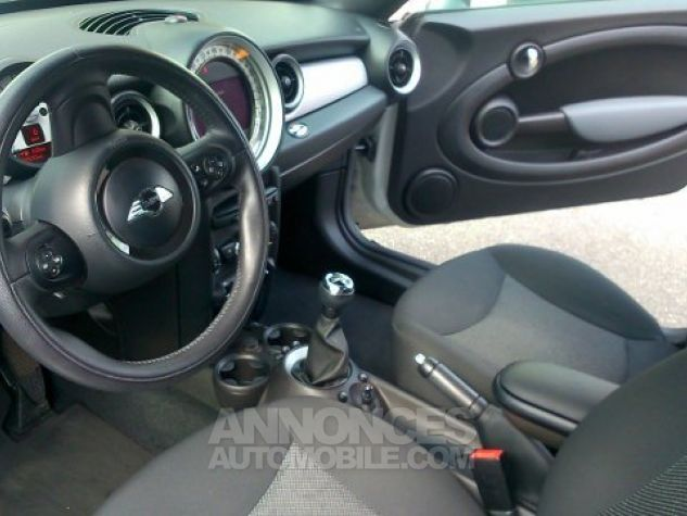 Mini Cooper Coupe 122ch PACK CHILI White Silver mètallise Occasion - 8