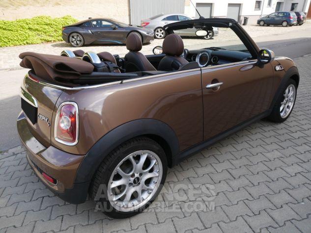 Mini Cooper S Cabriolet BVA, Xénon, Navi, Cuir Lounge Midnight Black métallisé Occasion - 3