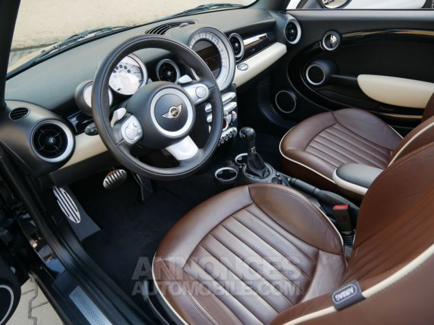 Mini Cooper S Cabriolet BVA, Xénon, Navi, Cuir Lounge Midnight Black métallisé Occasion - 5