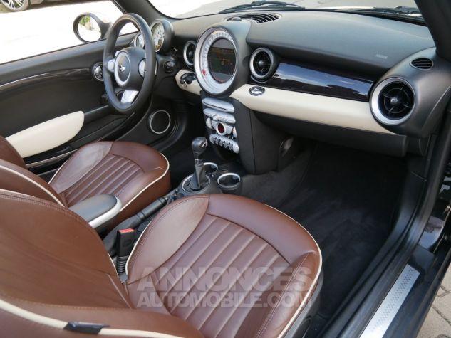 Mini Cooper S Cabriolet BVA, Xénon, Navi, Cuir Lounge Midnight Black métallisé Occasion - 6