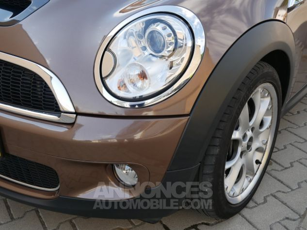 Mini Cooper S Cabriolet BVA, Xénon, Navi, Cuir Lounge Midnight Black métallisé Occasion - 9