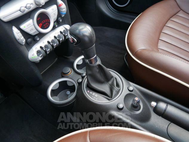 Mini Cooper S Cabriolet BVA, Xénon, Navi, Cuir Lounge Midnight Black métallisé Occasion - 17