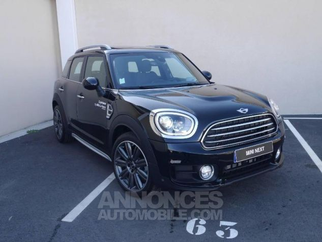 Mini Countryman Cooper 136ch Chili BVA Midnight Black Occasion - 0