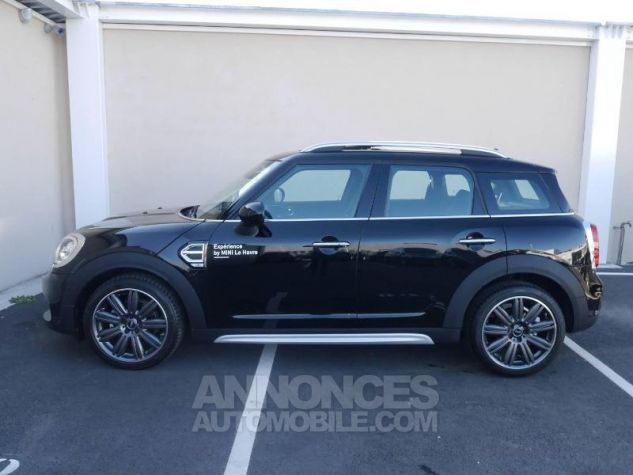 Mini Countryman Cooper 136ch Chili BVA Midnight Black Occasion - 2