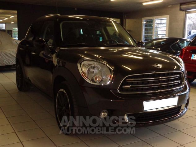 Mini Countryman COOPER D 112 PACK CHILI marron verni Occasion - 4