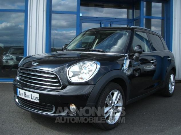 Mini Countryman COOPER D 112 PACK RED HOT CHILI Noir Occasion - 0