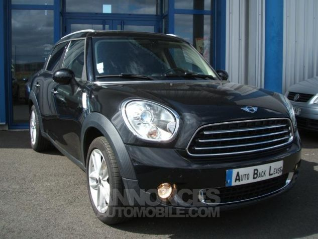 Mini Countryman COOPER D 112 PACK RED HOT CHILI Noir Occasion - 3