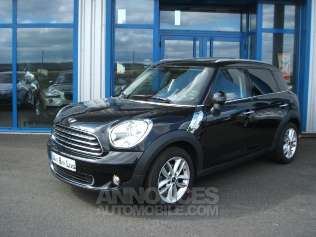 Mini Countryman COOPER D 112 PACK RED HOT CHILI Noir Occasion - 4