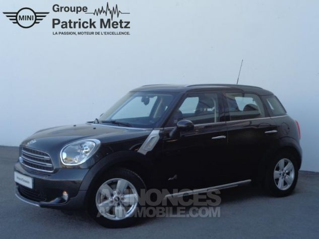 Mini Countryman Cooper D 112ch ALL4 Absolute Black metallise Occasion - 0