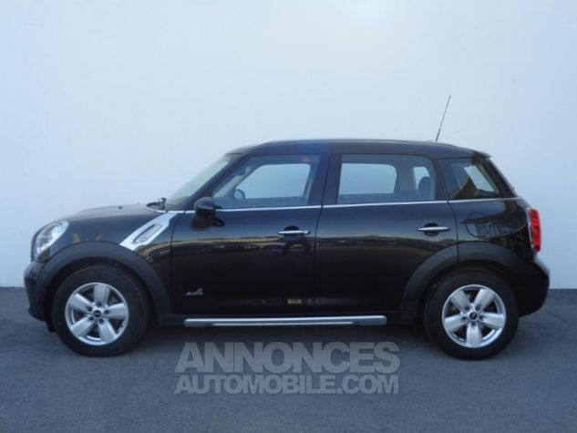Mini Countryman Cooper D 112ch ALL4 Absolute Black metallise Occasion - 1