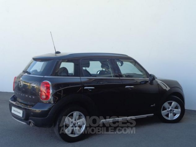 Mini Countryman Cooper D 112ch ALL4 Absolute Black metallise Occasion - 2