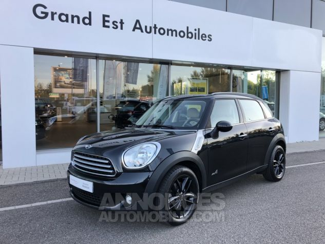 Mini Countryman Cooper D 112ch Pack Chili ALL4 Absolute Black Occasion - 0