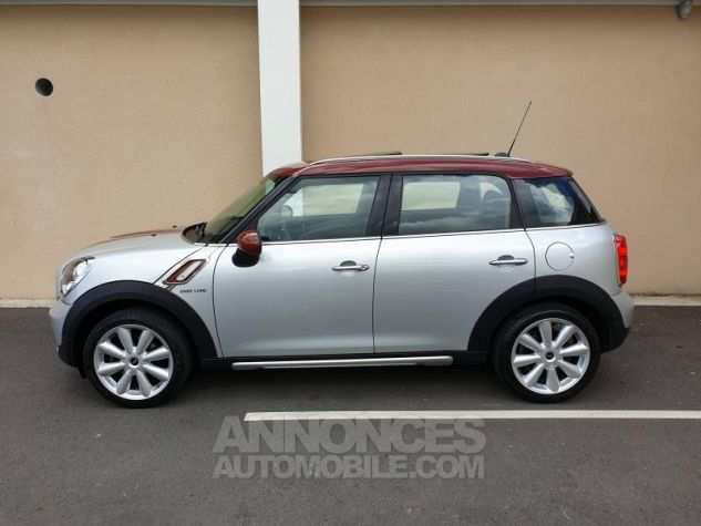Mini Countryman Cooper D 112ch Park Lane Crystal Silver Occasion - 2