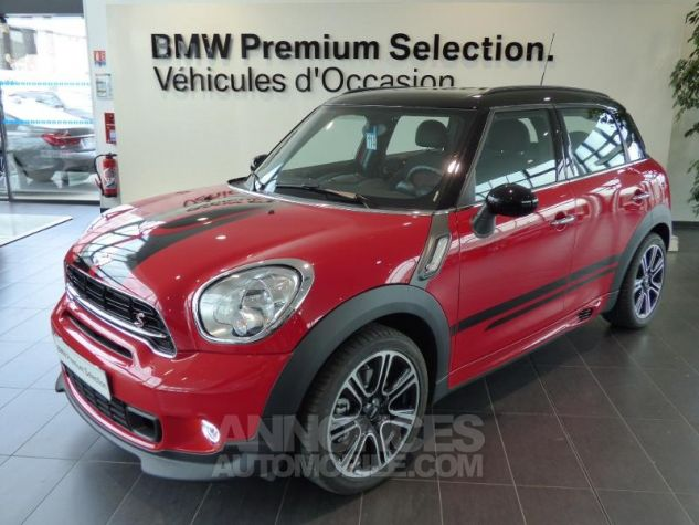 Mini Countryman Cooper S 190ch John Cooper Works ROUGE Occasion - 0