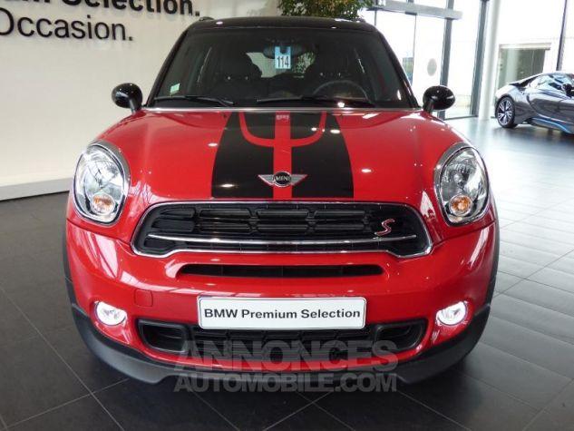 Mini Countryman Cooper S 190ch John Cooper Works ROUGE Occasion - 1