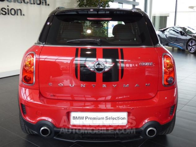Mini Countryman Cooper S 190ch John Cooper Works ROUGE Occasion - 3