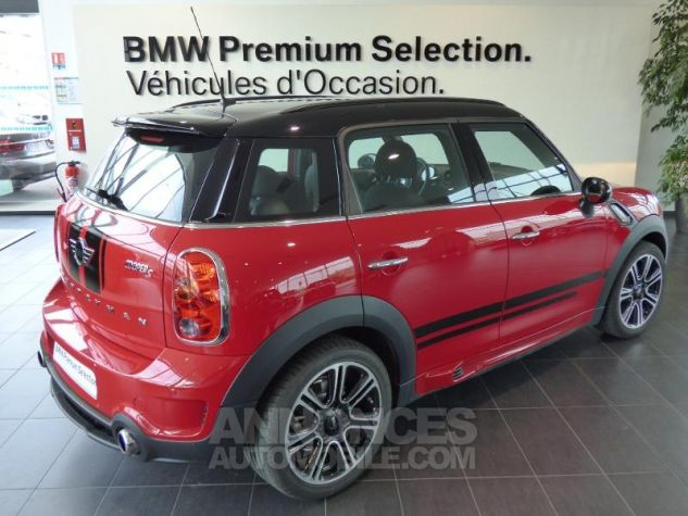 Mini Countryman Cooper S 190ch John Cooper Works ROUGE Occasion - 4