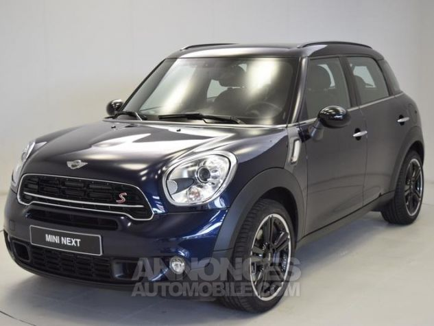 Mini Countryman Cooper S 190ch Pack Red Hot Chili Cosmic Blue metallise Occasion - 0