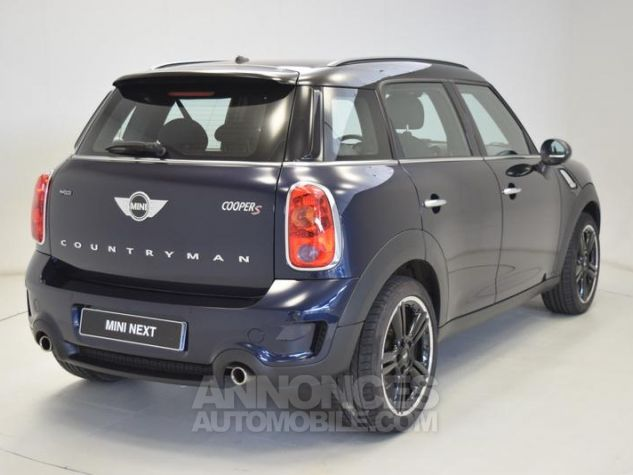 Mini Countryman Cooper S 190ch Pack Red Hot Chili Cosmic Blue metallise Occasion - 1