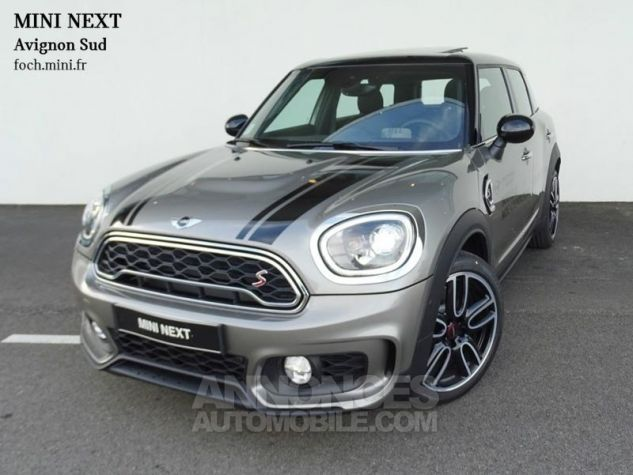 Mini Countryman Cooper SD 190ch John Cooper Works BVAS Melting Silver Metallisee Occasion - 0