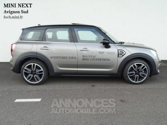 Mini Countryman Cooper SD 190ch John Cooper Works BVAS Melting Silver Metallisee Occasion - 9