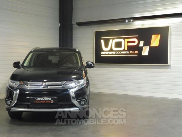 Mitsubishi OUTLANDER 2WD 22 DI-D INTENSE NAVI 5 PLACES 8CV 150CH Noir Occasion - 0