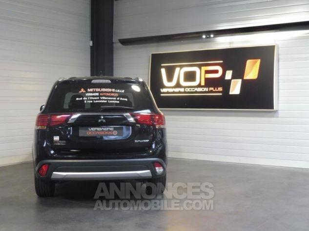 Mitsubishi OUTLANDER 2WD 22 DI-D INTENSE NAVI 5 PLACES 8CV 150CH Noir Occasion - 1