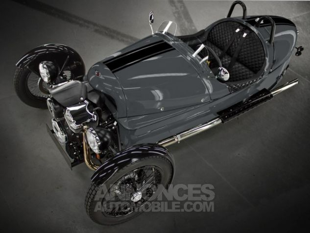 Morgan 3 Wheeler Bespoke Gris souri Neuf - 0