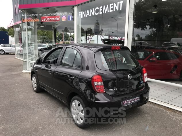 Nissan MICRA 1.2 80CH VISIA PACK Gris Occasion - 6