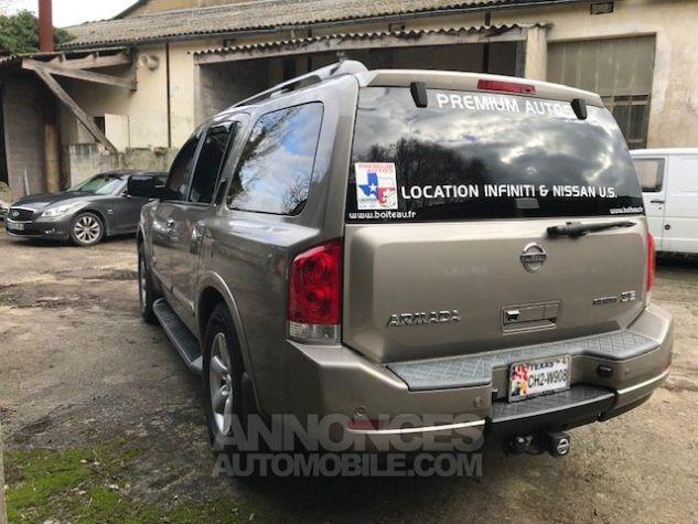 Nissan PATHFINDER Armada V8 LE 8 places Beige Occasion - 4