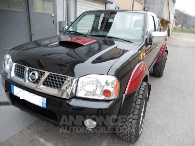 Nissan Pick Up Personnalisé base KingCab bicolore noir/orangé mét. Occasion - 0