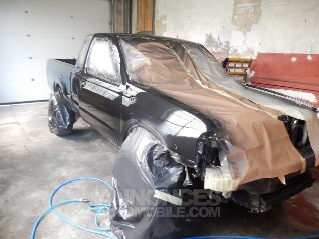 Nissan Pick Up Personnalisé base KingCab bicolore noir/orangé mét. Occasion - 3