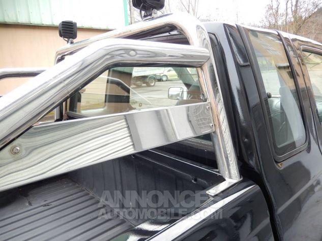 Nissan Pick Up Personnalisé base KingCab bicolore noir/orangé mét. Occasion - 5