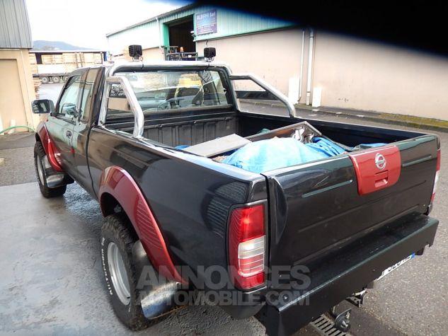 Nissan Pick Up Personnalisé base KingCab bicolore noir/orangé mét. Occasion - 9