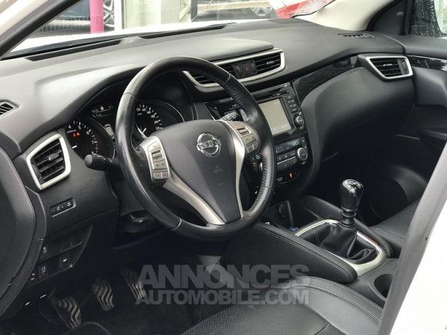 Nissan QASHQAI 1.2L DIG-T 115CH TEKNA Blanc Occasion - 1