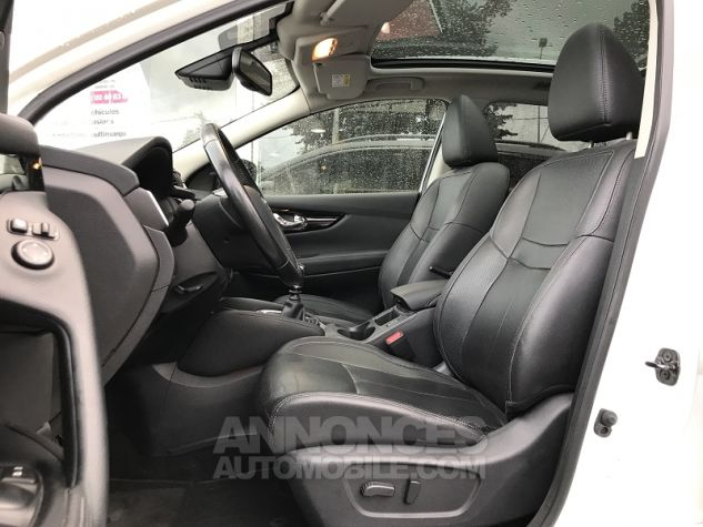 Nissan QASHQAI 1.2L DIG-T 115CH TEKNA Blanc Occasion - 3