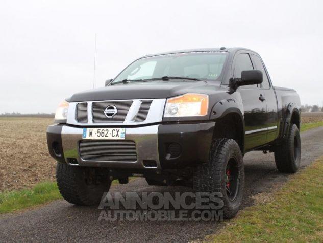 Nissan Titan king cab Texas Edition noir Occasion - 6